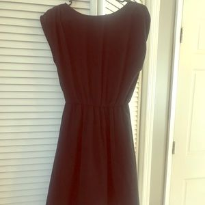 Dresses & Skirts - Black Clenched Waist Dress